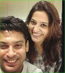 Sidharth Shukla with his ex-girlfriend Smita