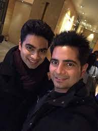 Karan Mehra with his brother