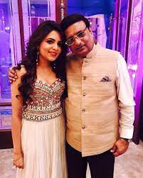 Sugandha Mishra with her father