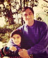 Adah Sharma with her father