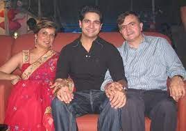 Karan Mehra with his parents