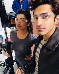 Rasika Sunil with her brother