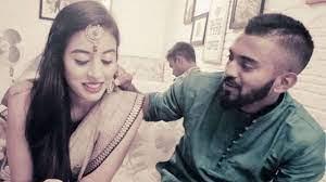 Elixir Nahar with her ex-boyfriend