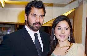 Kanchi Kaul with her husband