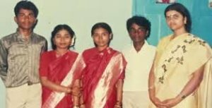 Remo D'Souza with his brother & sisters
