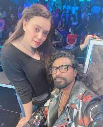 Remo D'Souza with his wife