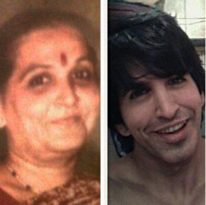 Vishal Kotian & Mother
