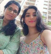 Donal Bisht with her mother