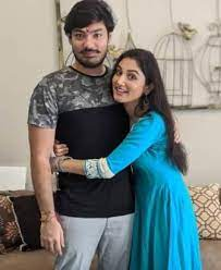 Donal Bisht with her brother