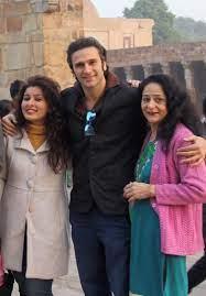 Karan Suchak with his family