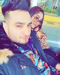 Afsana Khan with her boyfriend